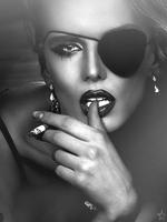 Красивые чёрно белые авки девушек фото 550-306