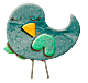 Random image: птица-спит